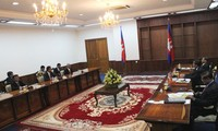 Political tension in Cambodia eases