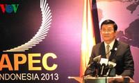 Vietnam's active integration in APEC