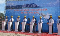 Installation work of Southeast Asia's longest submarine cable system begins