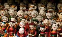 Water puppetry performances at Van Mieu-Quoc Tu Giam