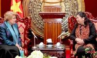 NA Vice Chairwoman receives UNICEF Chief Representative
