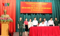 President Truong Tan Sang: more efforts to support people in border areas