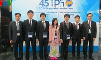 Vietnam wins big at 2014 International Physics Olympiad