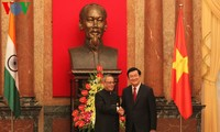 India's President concludes Vietnam visit