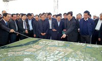 Prime Minister conducts fact-finding tour of 3 key national projects