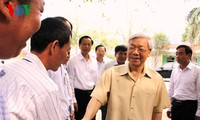 Party leader visits Lang Son province
