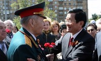 President Truong Tan Sang's activities in Russia