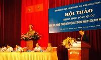 Arts, literature and personality development in Vietnam