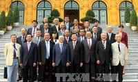 Kansai region's Japan-Vietnam Friendship Association delegation visits Vietnam