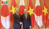 NA Chairman receives President of Japan's House of Councilors