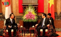 President receives President of Japanese House of Councilors