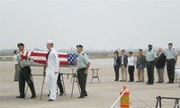 Remains of US military servicemen repatriated