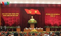 First day of 13th plenum of the 11th Party Central Committee