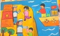 Educating children on national maritime sovereignty