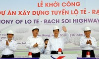 Construction of road section connecting Can Tho and Kien Giang begins