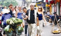 Increased numbers of tourists in localities