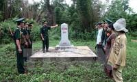 Chairmen of Vietnam-Laos border marker planting joint committee meet