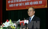 National Assembly chairman meets Ha Tinh voters