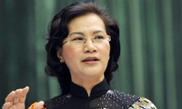 NA Chairwoman receives Quang Ninh's former NA deputies