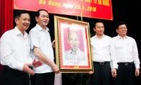 陈大光:尽快把岘港市建成全国大都市之一