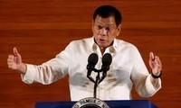 菲律宾总统杜特尔特开始对越南进行正式访问