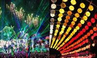 河内首次举办烟花-灯光-色彩艺术节