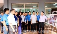 """""""黄沙长沙归属越南——历史和法理证据""""地图与资料展在太原省举行"""
