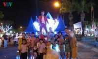 岘港举办精彩的狂欢节