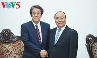 阮春福:越南一向重视加强与日本战略伙伴关系