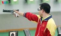 越南选手黄春荣在2017年东南亚射击锦标赛上打破纪录