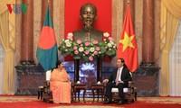 陈大光会见孟加拉国国民议会议长乔杜里