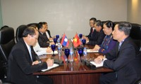 越南国会副主席丛氏放出席AIPA 38期间的接触活动