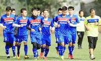 越南U23足球队前往中国集训 备战2018年亚洲U23足球赛决赛圈