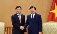 越南建议三星集团协助培训和发展配套企业
