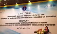 促进越南全球营养运动启动