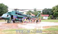 越南积极帮助老挝南部阿速坡省克服水电站大坝坍塌事故影响