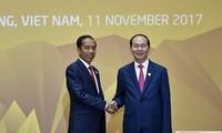 印度尼西亚总统和夫人开始对越南进行国事访问