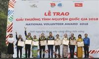 2018年国家志愿者颁奖仪式在河内举行