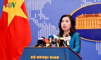 关于美军舰驶过长沙群岛:越南要求各国尊重和遵守相关海域法律