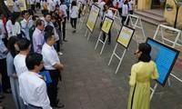 黄沙和长沙归属越南资料与图片展举行