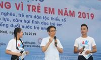 2019年儿童行动月启动仪式在清化省举行