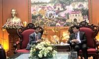 本台台长阮世纪会见印度驻越大使