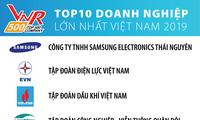 太原三星电子公司领衔2019年越南十大企业