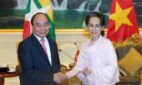 越缅加强全面合作