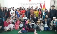 旅居埃及越南人欢度新春佳节