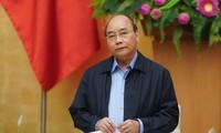 越南政府总理阮春福:这是避免新冠肺炎疫情爆发的决定性时刻