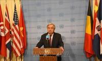 联合国再次呼吁全球停火