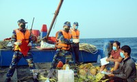 越中2020年第一次北部湾共同渔区海上联合检查行动圆满结束