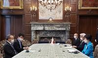 日本参议院议长对越南人民同心协力防控新冠肺炎疫情予以高度评价