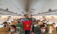 越南将130多名在马来西亚和非洲一些国家的越南公民接回国